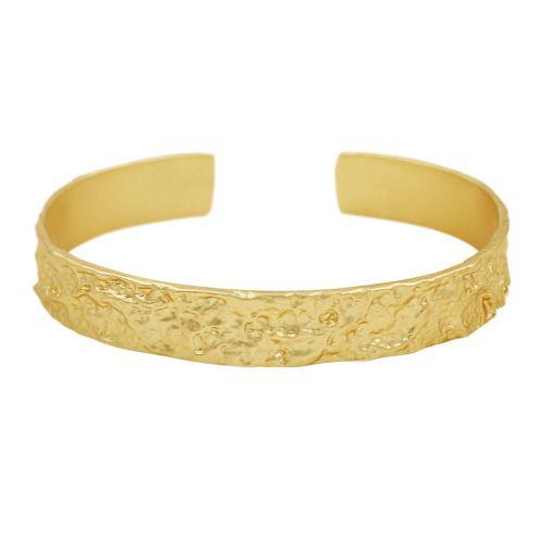 Dansk Smykkekunst Amber one size armband verguld