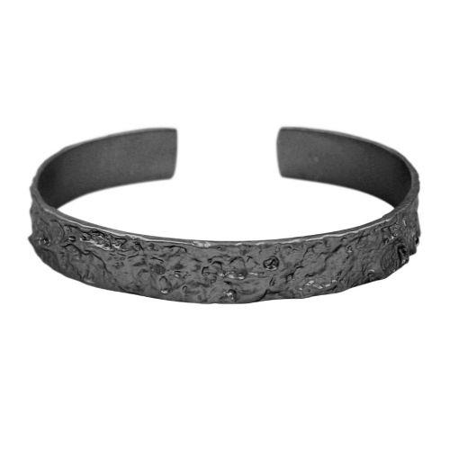 Dansk Smykkekunst Amber one size armband hematiet