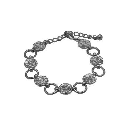 Dansk Smykkekunst Amber armband hematiet