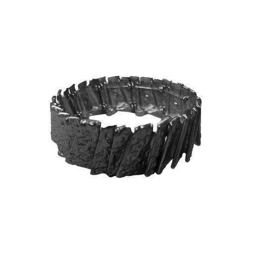 Dansk Smykkekunst Amber Construct armband hematiet