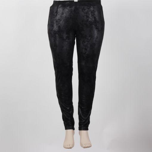 Adia zwarte legging met coating