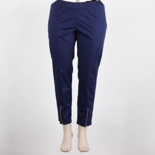 Maxima blauwe broek enkellang