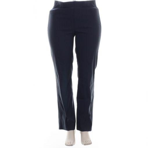 Adelina donkerblauwe broek comfort fit