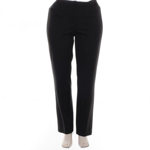 Adelina zwarte tricot broek model Conny