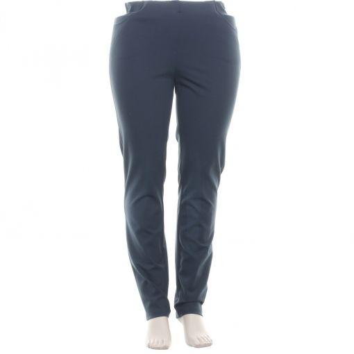 Adelina petrol groene pantalon