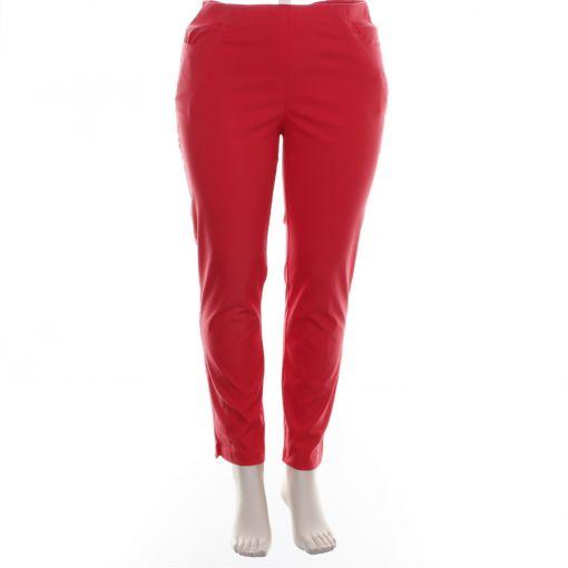Adelina enkellange rode broek