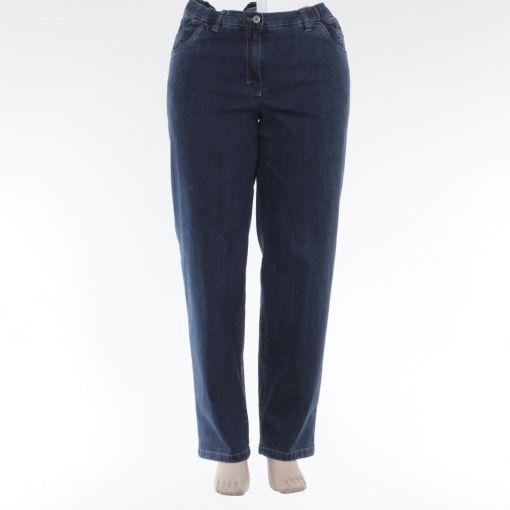 KJ Brand donkerblauwe spijkerbroek model Babsie