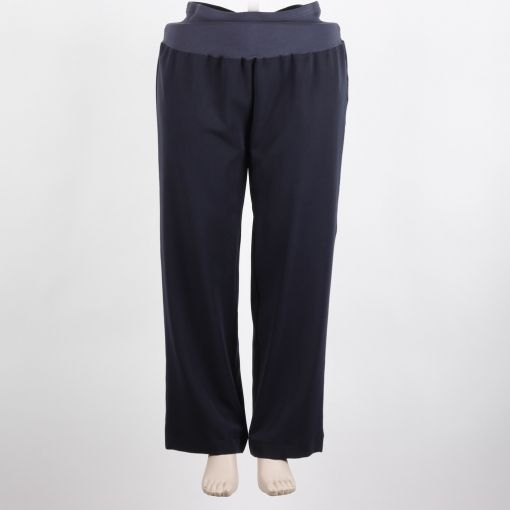 Carleoni pantalon donker blauw recht model