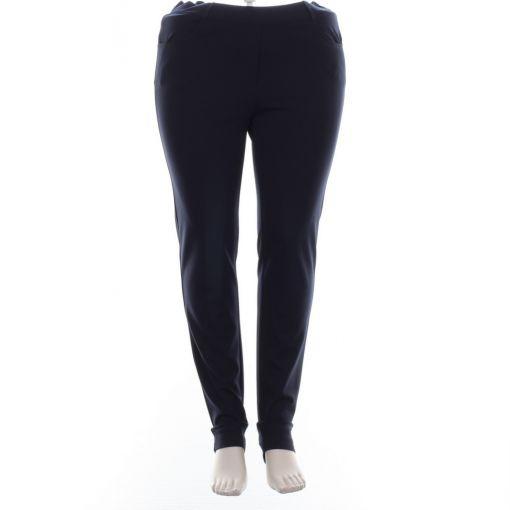 Stark blauwe broek slimfit model