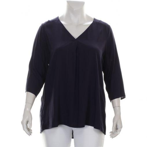 Yesta donkerblauwe blouse