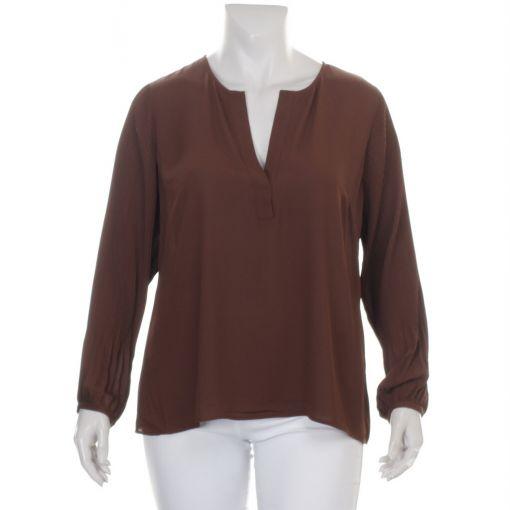 Open End bruine blouse