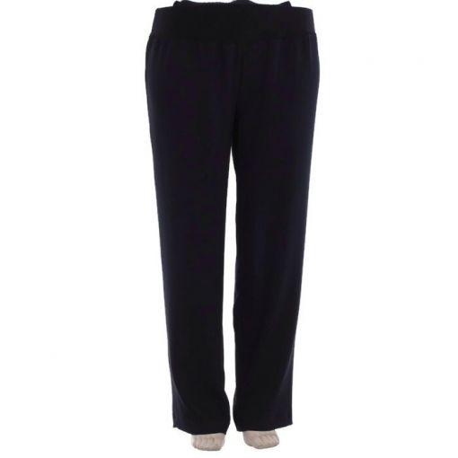 Carleoni pantalon marine iets toelopend model