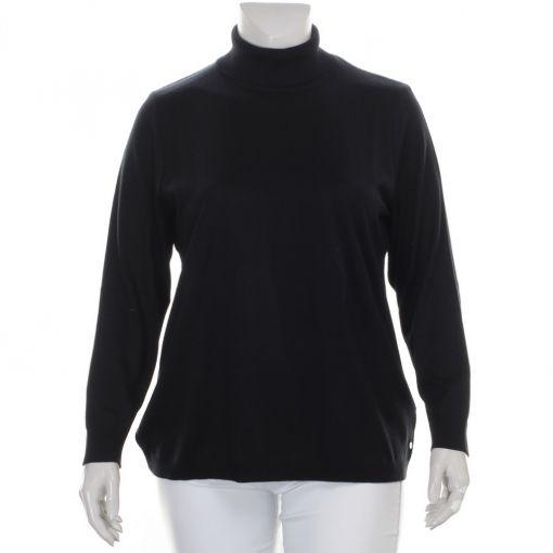 Verpass zwarte pullover met col