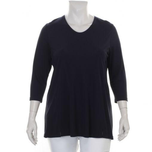 KJ-Brand blauw A-lijn shirt