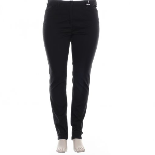 Relaxed by Toni zwarte stretch broek