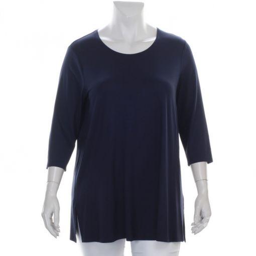Verpass donkerblauw A-lijn shirt