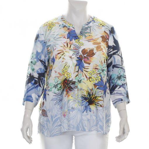 Erfo blouse met fleurige bloemenprint