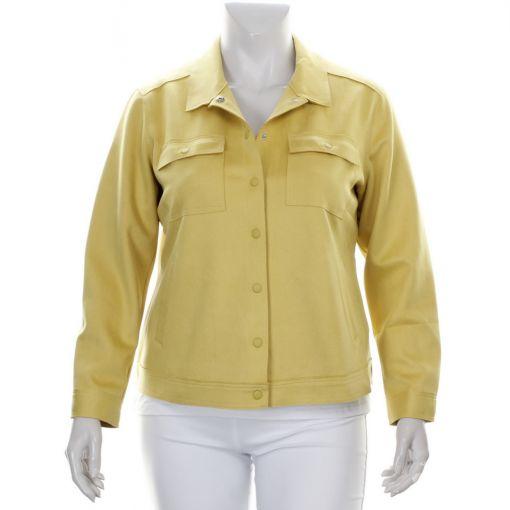 Frapp gele blazer met zakjes