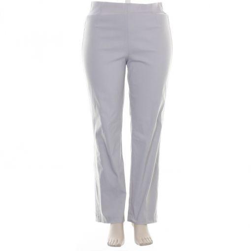 Adelina grijze broek comfort fit model