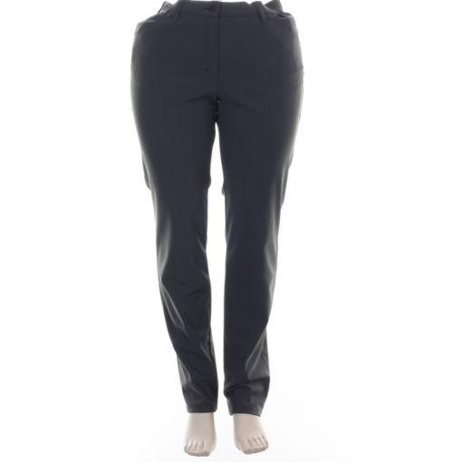 KJ Brand Exquisite grijze travel broek model Betty