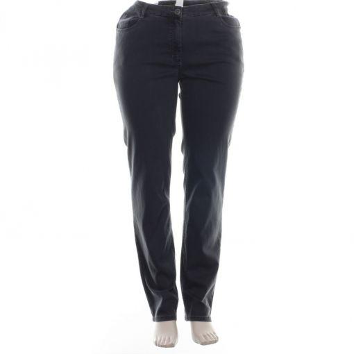 Stark donkergrijze jeans model CS Ronja