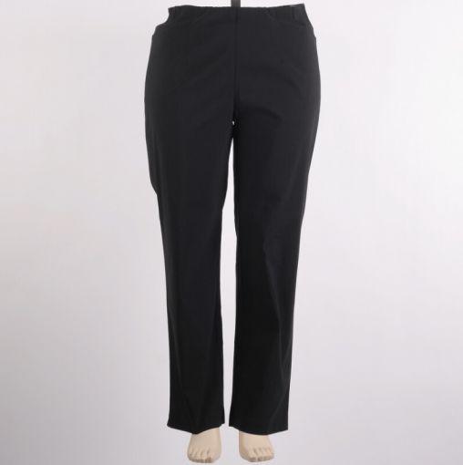 Zwarte pantalon hoge taille merk Mona Lisa model Babsi