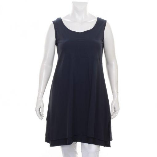 Only-M donkerblauwe jurk