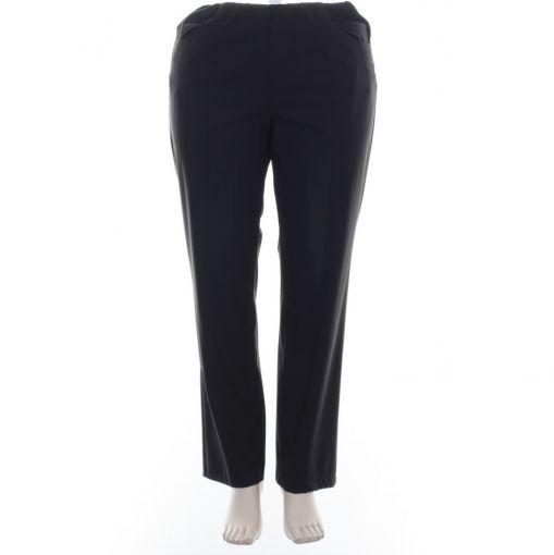 Kj-Brand zwarte pantalon travelstof