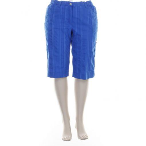 KJ Brand kobaltblauwe korte broek model Betty