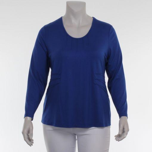 Jorli kobaltblauw shirt