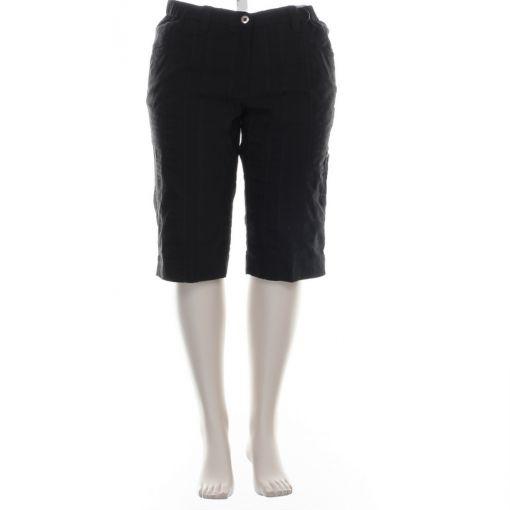 KJ Brand zwarte korte broek model Betty