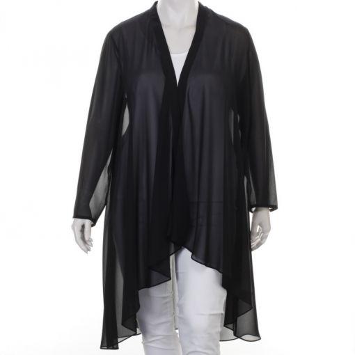 Kirsten Krog Design lange voile blouse