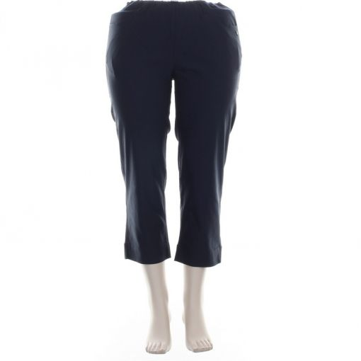Laurie capri broek blauw regular model Caroline