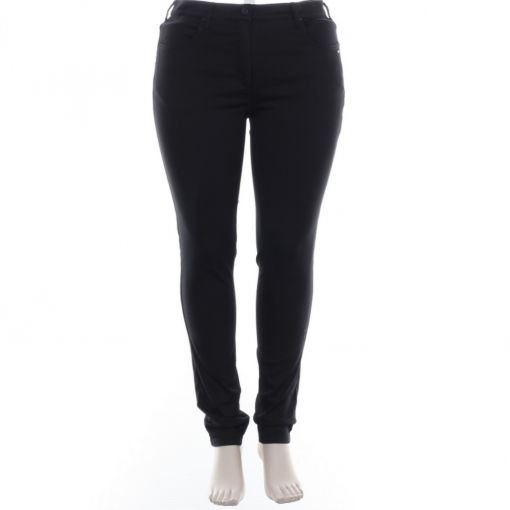 Laurie zwarte broek slim fit model Laura