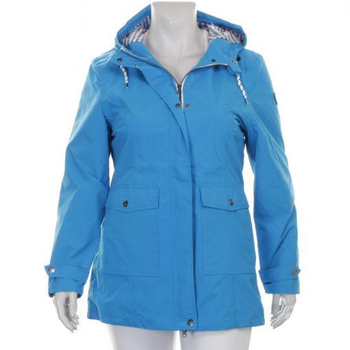 Brigg blauwe jas winddicht en waterdicht