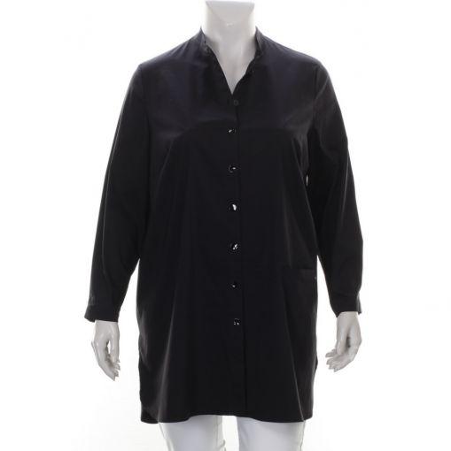 Q'neel lange zwarte blouse