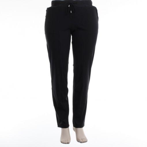 Only M. zwarte pantalon travelstof