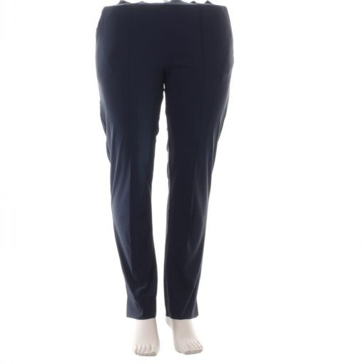 Plus Basics blauwe pantalon