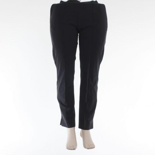 Plus Basics zwarte broek met opgestikte naad