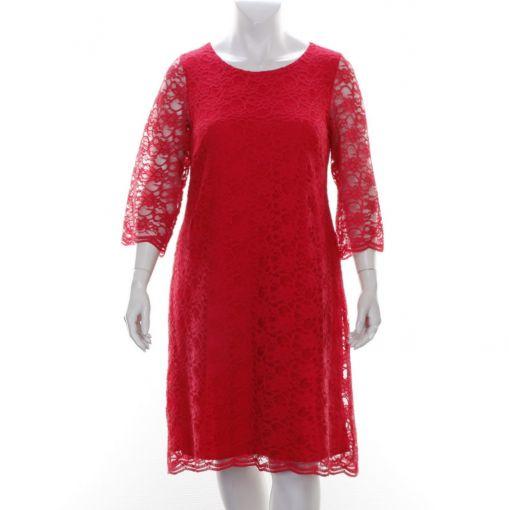 Godske rode kanten jurk