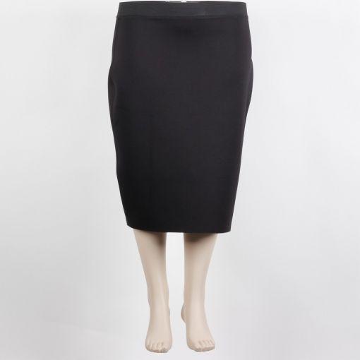 Yoek zwarte rok scuba stof