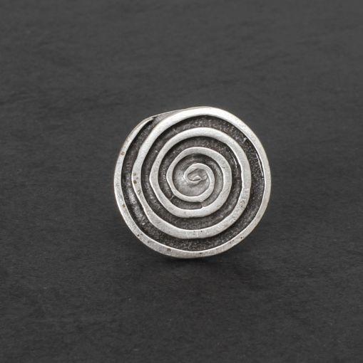 Hevi ronde ring met spiraalvorm