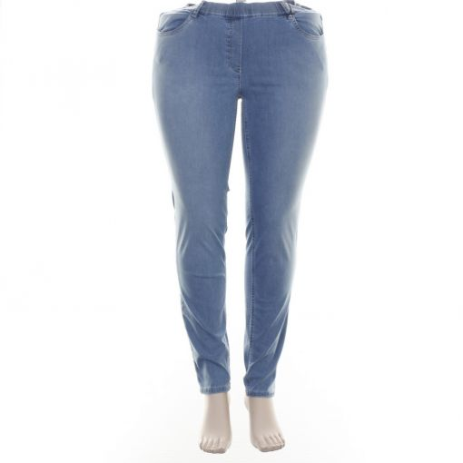 Stark lichtblauwe slimfit jeans model S-Janna