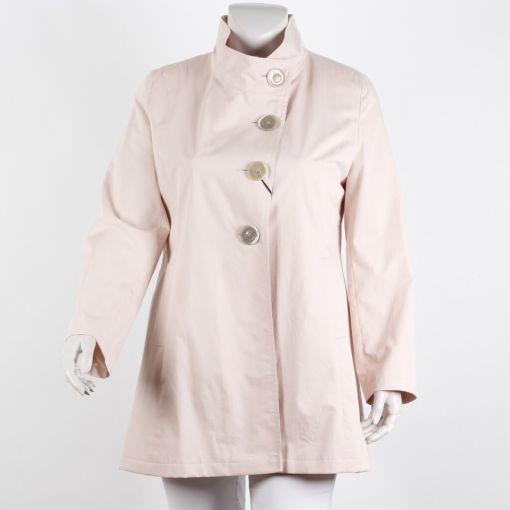 Erich Fend  roze A-lijn dames zomer jas