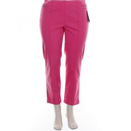 Robell roze enkellange broek model Elsa