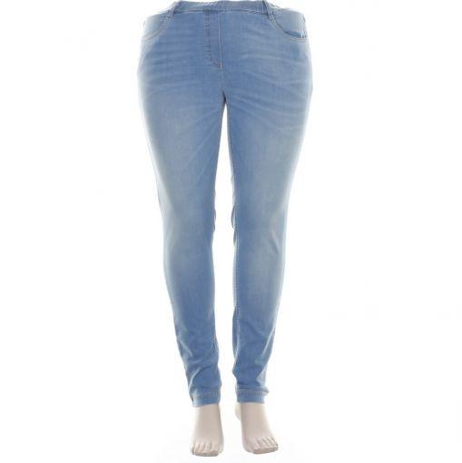 Stark lichtblauwe spijkerbroek model S-Janna