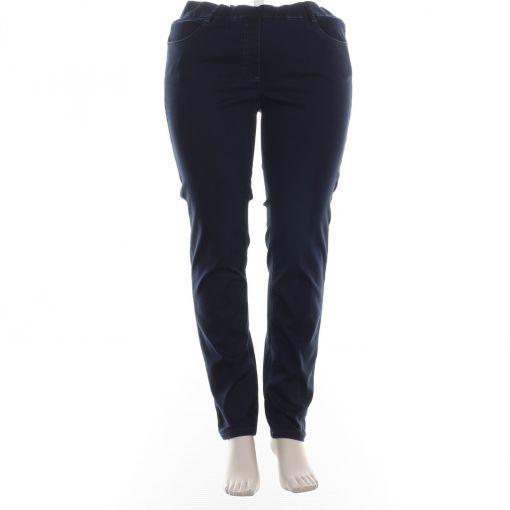 Stark donkerblauwe slimfit jeans S-Janna