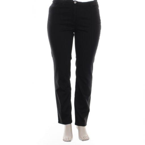 Samoon zwarte spijkerbroek model Betty