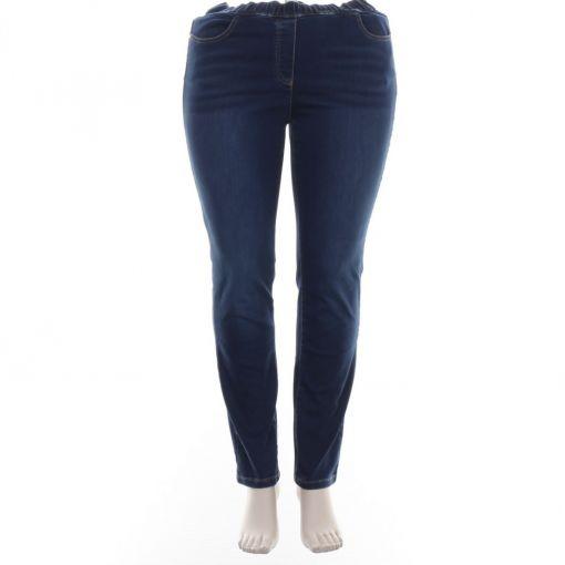 Samoon spijkerbroek slimfit model Lucy
