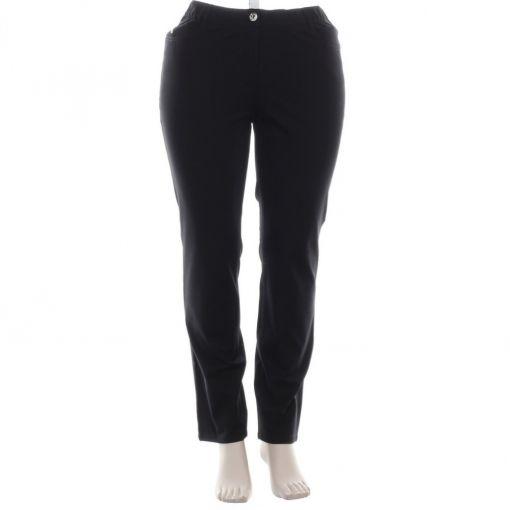 Samoon zwarte jeans met comfortboord
